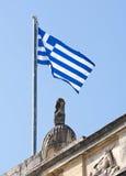 希腊标志 免版税库存图片