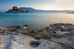 希腊横向 库存图片