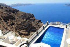 希腊欧洲圣托里尼海岛 库存图片