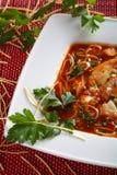 希腊汤蕃茄 库存图片