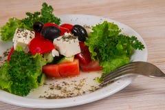 希腊沙拉 库存图片