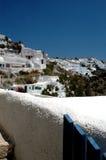希腊海岛场面 免版税库存照片