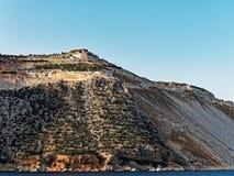 希腊海岛大理石猎物 库存图片