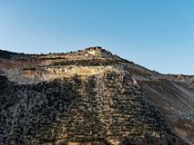 希腊海岛大理石猎物 库存照片