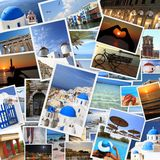 希腊海岛照片 免版税库存照片