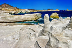 希腊海岛芦粟系列 库存照片