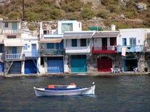 希腊海岛芦粟 图库摄影