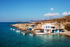 希腊海岛芦粟 免版税库存图片