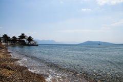 希腊海岛 图库摄影