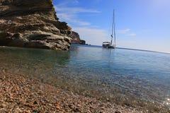 希腊海岛 库存图片