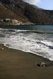 希腊海岛kalymnos 库存图片