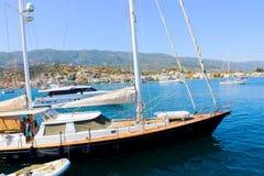 希腊海岛poros 库存图片