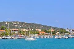 希腊海岛skiathos 库存图片