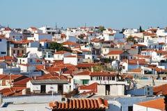 希腊海岛skiathos 免版税库存图片