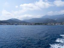 希腊海岛thassos 图库摄影