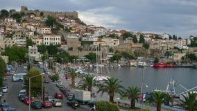 希腊海岸和风景 免版税库存图片