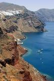 希腊海岸线 图库摄影