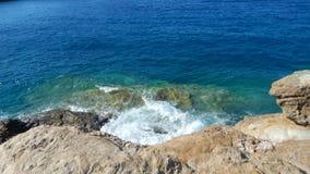 希腊海岸 图库摄影