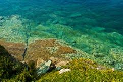 希腊海景 免版税库存图片