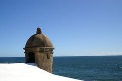 希腊海运视图 库存照片