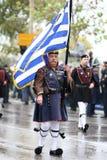 希腊游行 库存照片