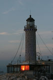 希腊灯塔patra 免版税库存照片