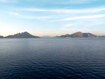 希腊爱奥尼亚海 库存图片