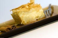 希腊甜点 免版税库存照片