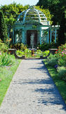 希腊的庭院 库存图片