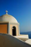 希腊的教会 免版税库存图片