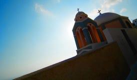希腊的教会 免版税库存照片