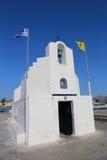 希腊的教会 库存图片