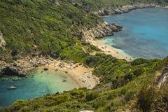 希腊的波尔图Timoni 免版税库存照片