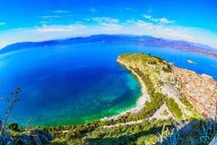 希腊的海洋 免版税图库摄影