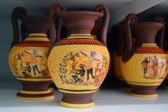 从希腊的纪念品 图库摄影