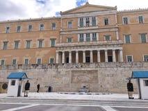希腊的parlament 库存照片
