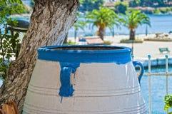 希腊罐 免版税图库摄影