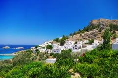 希腊罗得斯 库存照片