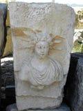 希腊罗马剧院的阶段在土耳其 图库摄影