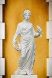 希腊罗马雕象妇女 库存照片