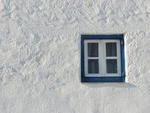 希腊老视窗 免版税库存照片