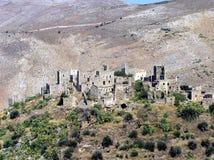 希腊耸立传统 库存图片