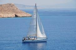 希腊航行 免版税图库摄影
