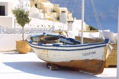希腊节假日夏天 免版税库存图片