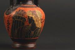希腊花瓶 库存图片