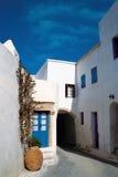 希腊街道 库存图片