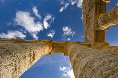 希腊西西里岛寺庙 库存图片