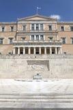 希腊议会 免版税库存图片
