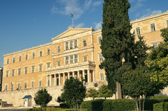 希腊议会 免版税图库摄影