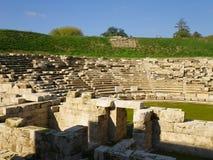 希腊语剧院 库存图片